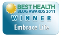 Best Health Blog Awards 2011 Winner