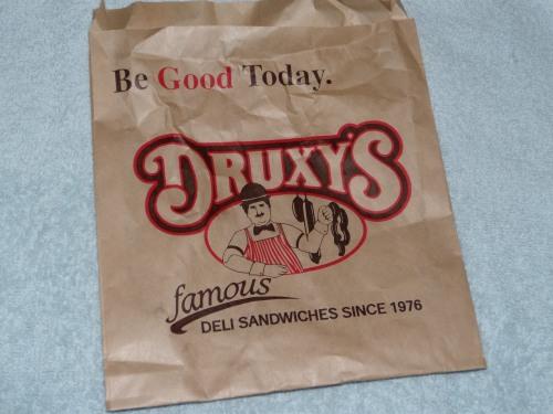 A Druxy's paper bag