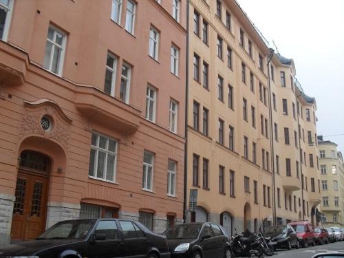 Street scene in downtown Stockholm