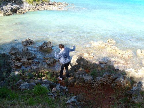 Breathtaking Bermuda beauty: Often even nature does us a good deed.