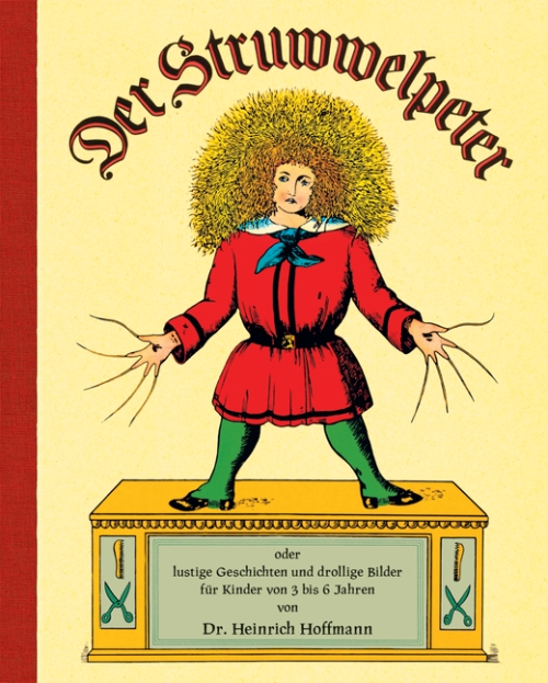 Many of the brutal images from Der Struwwelpeter are inappropriate for a family-friendly  blog. That didn't stop generations of parents from sharing them with their kids (who no doubt were destined for many years of therapy down the road).