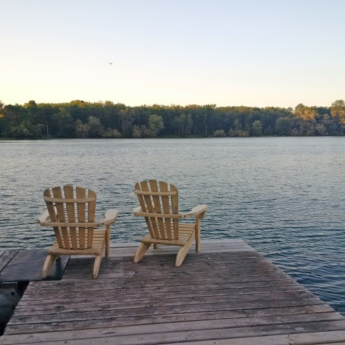 We had lake, we had dock, we had Muskoka chairs. It was all the makings of a quintessential Ontario summer getaway.