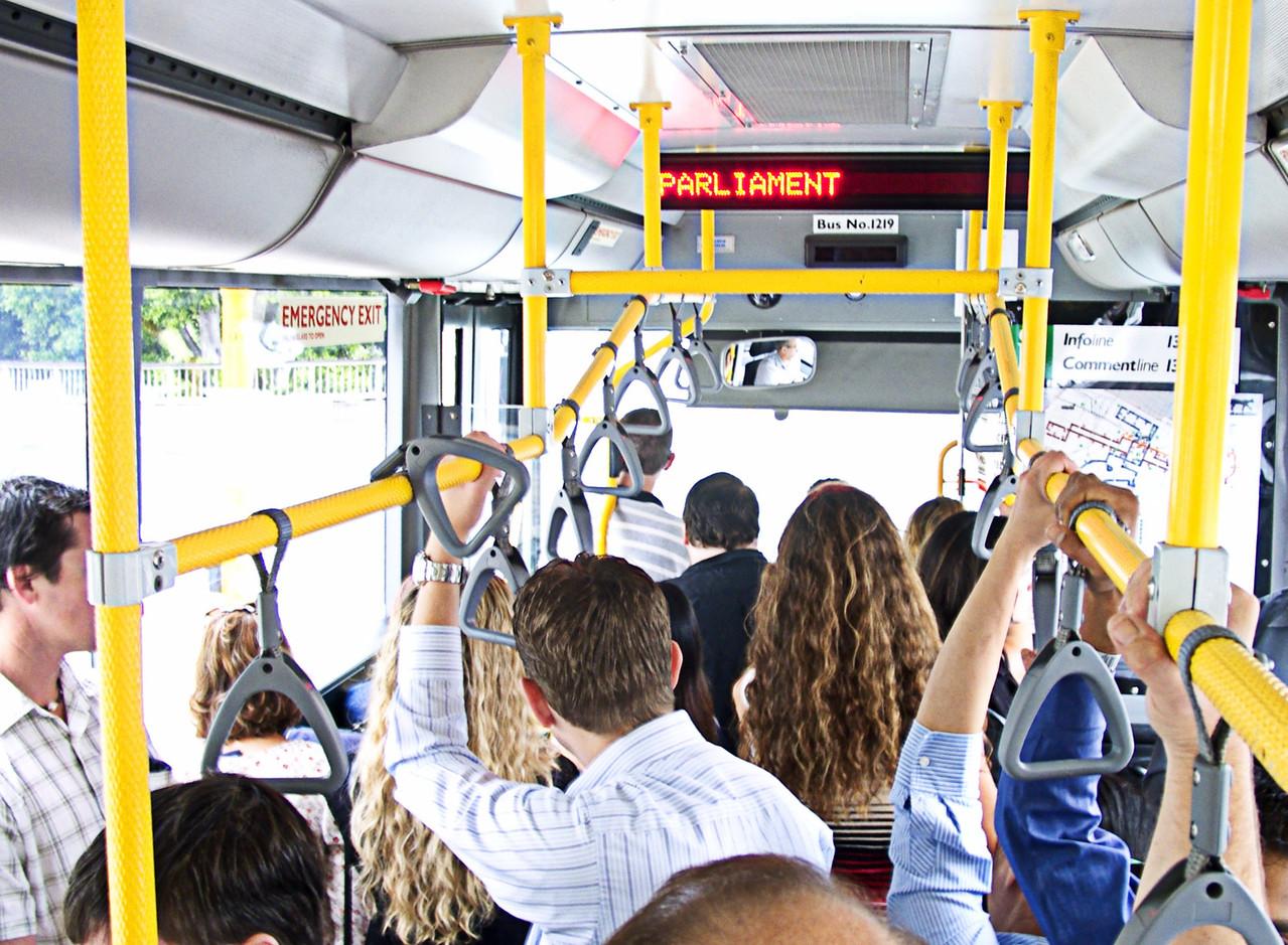 какое место занять в автобусе